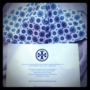 Tory Burch mask
